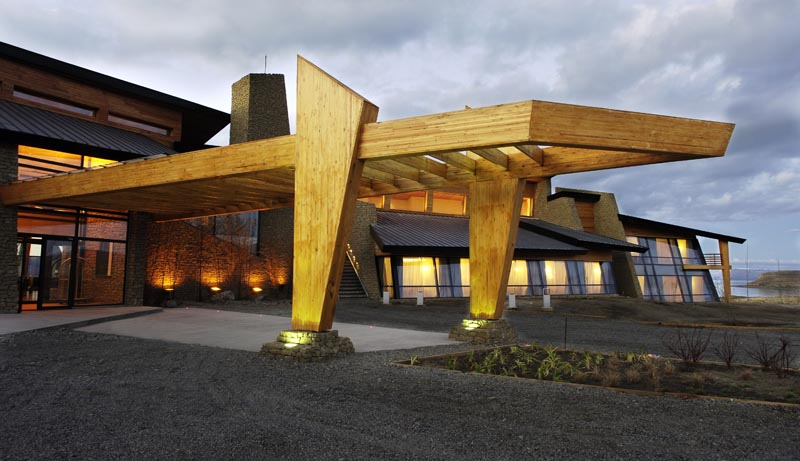 Hotel en calafate design suites design hotels for Hotel suite design